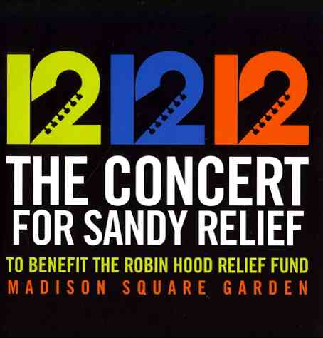 12 12 12:CONCERT FOR SANDY RELIEF (CD)